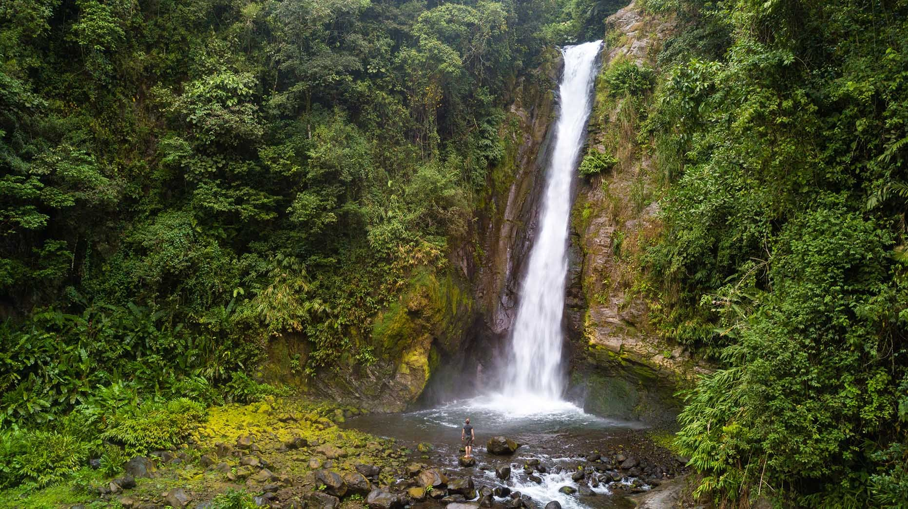Aquiares Waterfall - Costa Rica