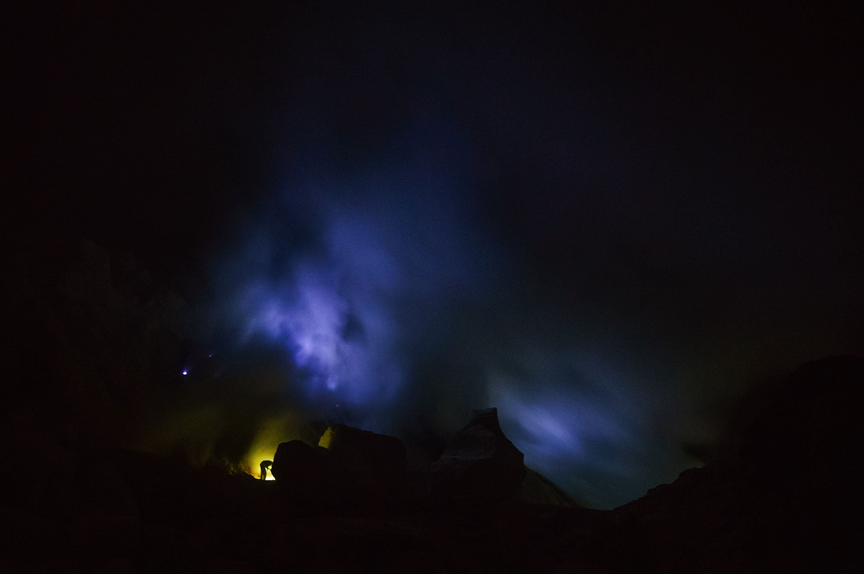 (Blue Fire) Ijen - Indonesia